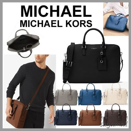Michael Kors A4 2WAY Plain Leather Business & Briefcases