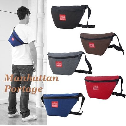 Manhattan Portage Street Style 2WAY Plain Hip Packs