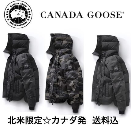 ... CANADA GOOSE Down Jackets Camouflage Plain Down Jackets ...