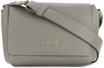 FURLA Plain Leather Elegant Style Shoulder Bags