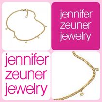 Jennifer Zeuner Casual Style Chain Silver Anklets