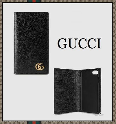 Pre-sale 2017 GG Marmont notebook type iPhone 7 case