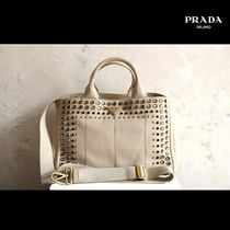 PRADA CANAPA With Jewels Mothers Bags