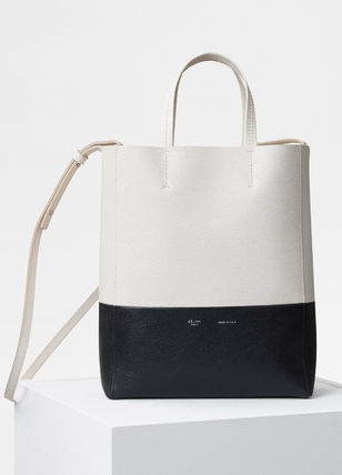 012bdc9ccdeb6 CELINE Cabas 2018-19AW Casual Style A4 2WAY Plain Leather Totes by ...