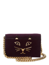 Charlotte Olympia Suede 2WAY Plain Other Animal Patterns Elegant Style