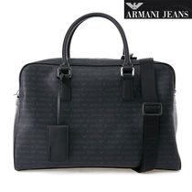 ARMANI JEANS Unisex 2WAY Other Animal Patterns PVC Clothing Totes