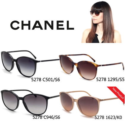 39126997fd7 CHANEL Sunglasses Round Sunglasses 18 CHANEL Sunglasses Round Sunglasses ...