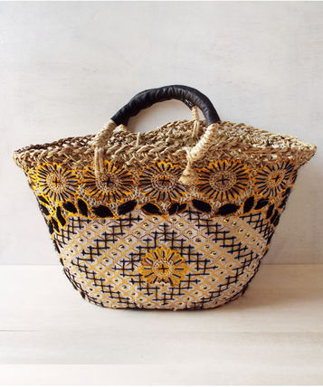 Marche bag lace black × gold