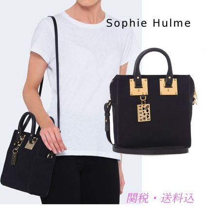 SALE SOPHIE HULME square Canvas Cromwell tote