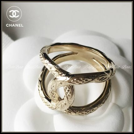 CHANEL Costume Jewelry Elegant Style Rings