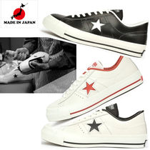 CONVERSE ONE STAR Unisex Leather Low-Top Sneakers