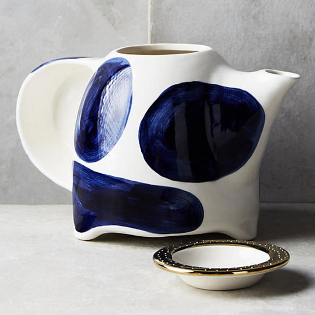 Anthropologie Cups & Mugs free wrapping and stylish teapots deformation Dots 2