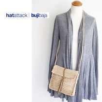 HAT Attack Casual Style Street Style Plain Shoulder Bags