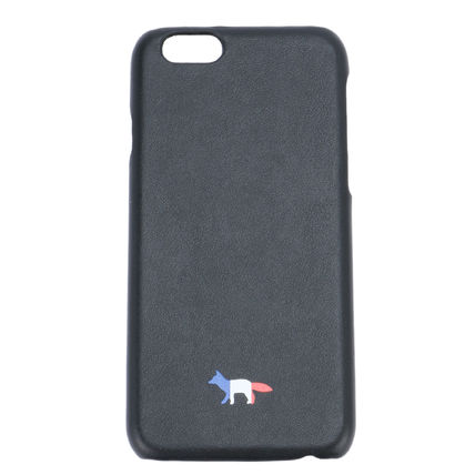 Immediate delivery MAISON KITSUNE 16AW IPHONE CASE LEATHER