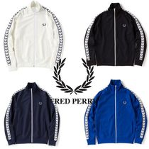 FRED PERRY Plain Track Jackets