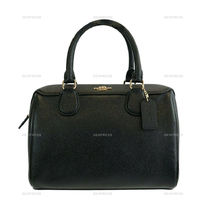 Coach 2WAY Plain Leather Bags