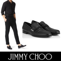 Jimmy Choo Plain Toe Loafers Plain Leather Loafers & Slip-ons