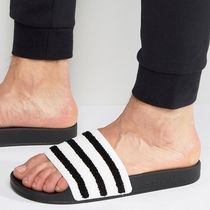 adidas ADILETTE Stripes Unisex Shower Shoes Shower Sandals