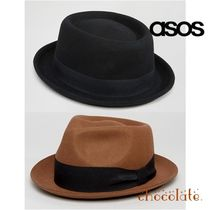 ASOS Street Style Straw Boaters Wide-brimmed Hats