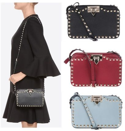 Rock studded crossbody shoulder