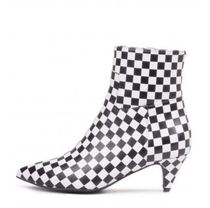 Jeffrey Campbell Other Check Patterns Street Style Leather Pin Heels