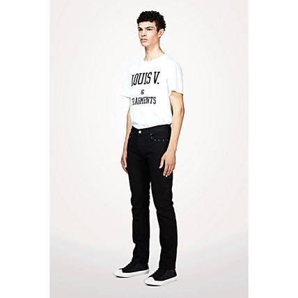 ef732d4b848 Louis Vuitton More T-Shirts Street Style Cotton Short Sleeves T-Shirts .