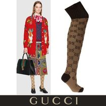GUCCI Monoglam Cotton Socks & Tights