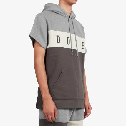 DOPE couture Hoodies Pullovers Street Style Plain Cotton Short Sleeves Hoodies 2