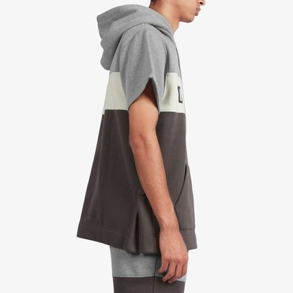 DOPE couture Hoodies Pullovers Street Style Plain Cotton Short Sleeves Hoodies 3