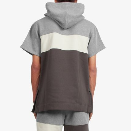 DOPE couture Hoodies Pullovers Street Style Plain Cotton Short Sleeves Hoodies 4