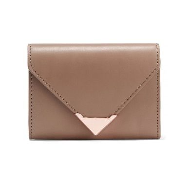 Trend size mini ALEXANDER WANG Leather wallet