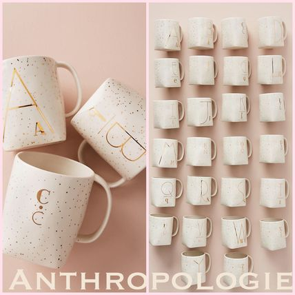 --Anthropologie Monogram Mug