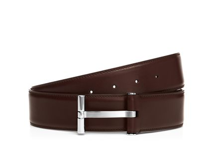 Store T BUCKLE BELT Belt BROWN slightly