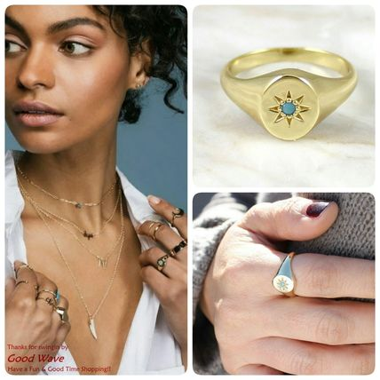 Brand kris nations turquoise ring