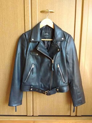 Real leather jacket M