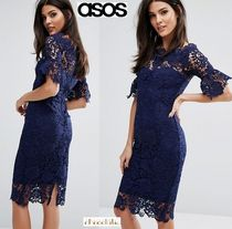 ASOS Tight Plain Medium Party Style Lace Dresses
