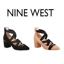 Nine West Plain Pin Heels Stiletto Pumps & Mules