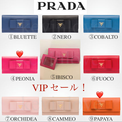Only VIP sale PRADA card holder with long wallet PEONIA and