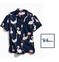 Ron Herman Flower Patterns Tropical Patterns Cotton Short Sleeves