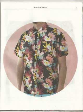 Ron Herman Shirts Flower Patterns Tropical Patterns Cotton Short Sleeves 12