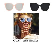 Quay Eyeware Australia Cat Eye Glasses Sunglasses