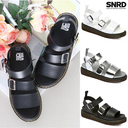SNRD SN 226 two buckle boots sole sandals