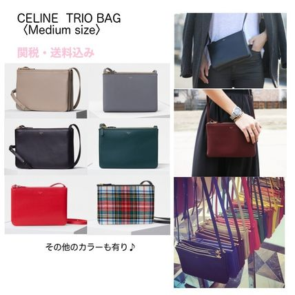 9a37d89f7 CELINE Trio Bag 2017-18AW Lambskin 3WAY Shoulder Bags by Hownice - BUYMA