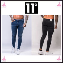 11 Degrees Plain Cotton Skinny Fit Jeans & Denim