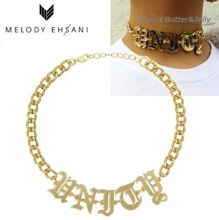 Casual Style Initial Street Style Brass Necklaces & Pendants
