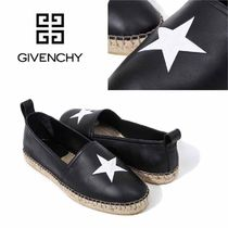 GIVENCHY Star Sheepskin Street Style Plain Loafers & Slip-ons