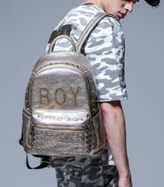 BOY LONDON Studded Backpacks
