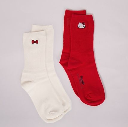 Rare Hello Kitty collaboration socks SET2 LAZY OAF