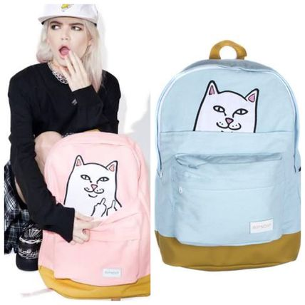 Casual Style Unisex Other Animal Patterns Backpacks