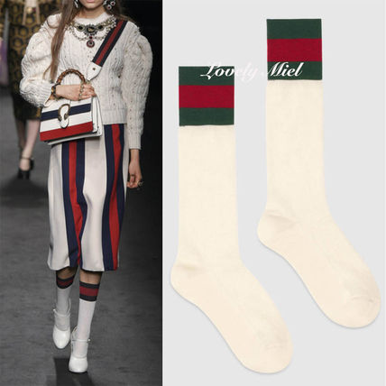 Gucci sporty line cotton socks